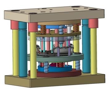 توانایی طراحی و ساخت قالبهای صنعتی کلاچ سازی شایان صنعت